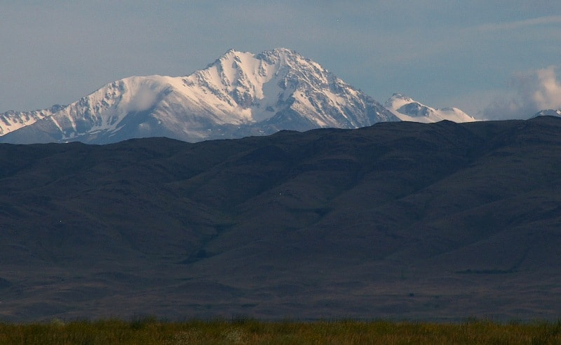 Горы Таласский Алатау.