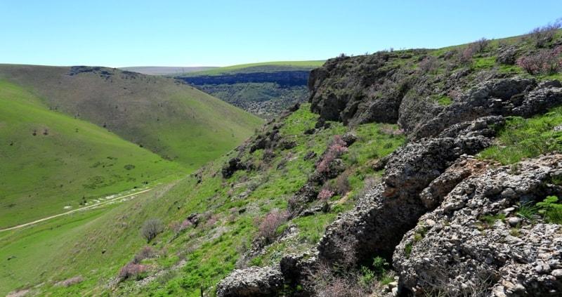 В каньоне Машат.
