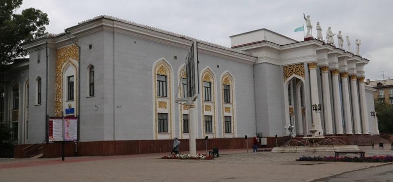 Дворец культуры горняков.