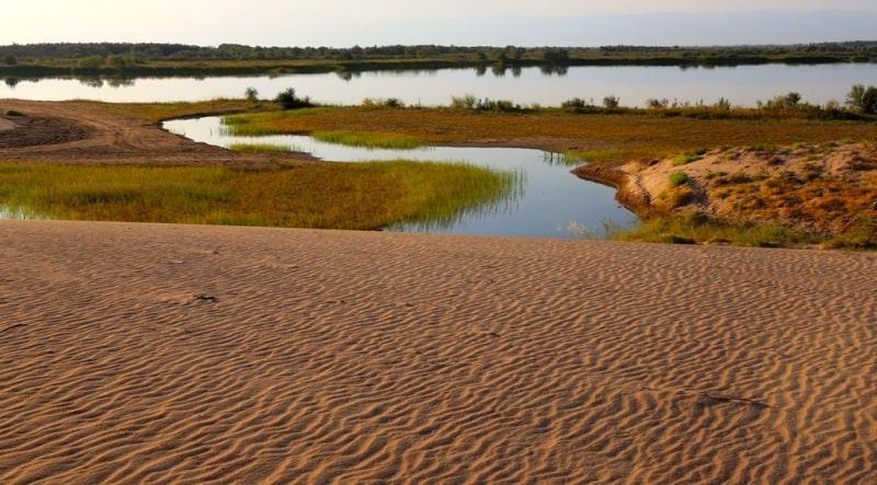 Озеро Деревянное и его окрестности.