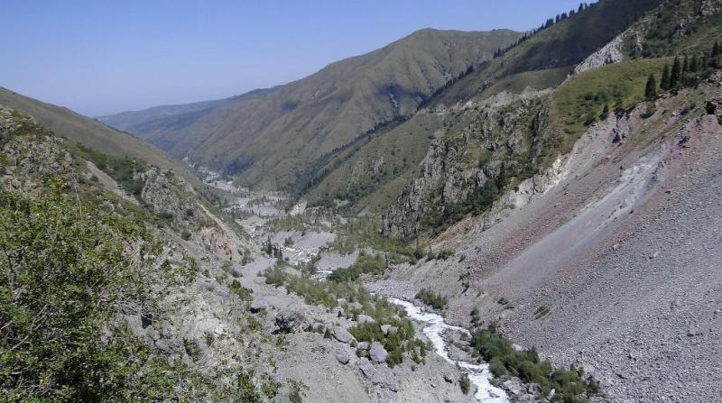Долина реки Иссык.
