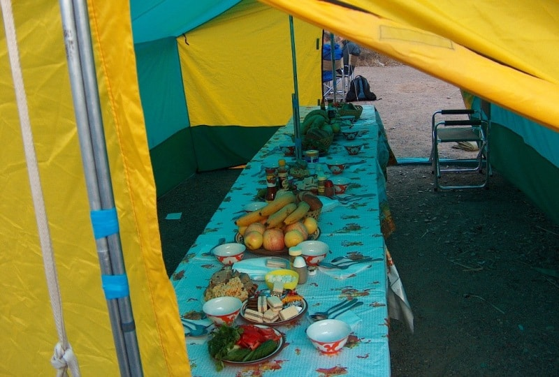 Пикник на Чарыне.