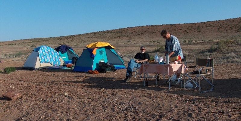 Пикник и лагерь на Балхаше.