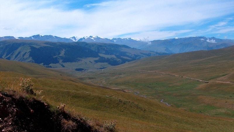 Западная часть плато Асы.