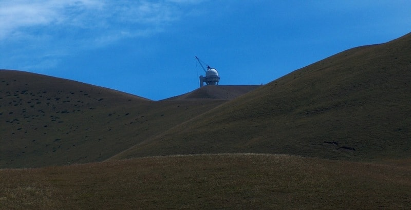 Западная часть плато Асы. Асы-Тургеньская обсерватория.