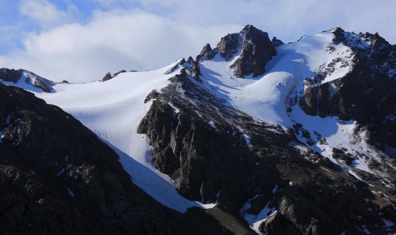 Mountains Zailijskyi of Ala-Tau.