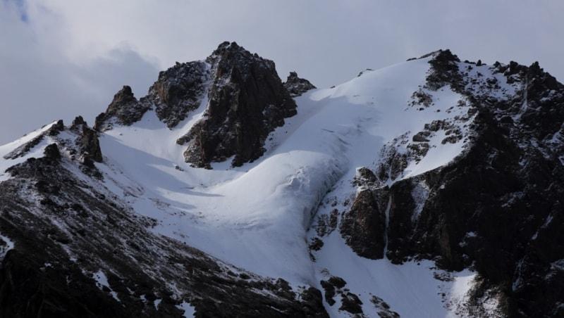 Glaciers Zailiskyi Ala-Tau.