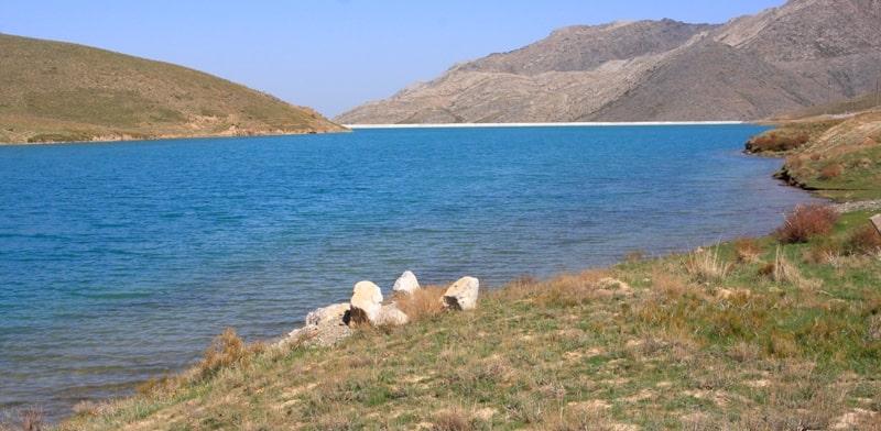 Турланское водохранилище.