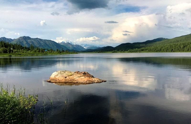Озеро Язевое и его окрестности.