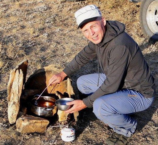 Андрей Киреев. Фотограф, путешественник. Водитель на 3-х дверном Прадике. Позывной «Второй».