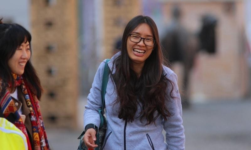 Девушка-китаянка.