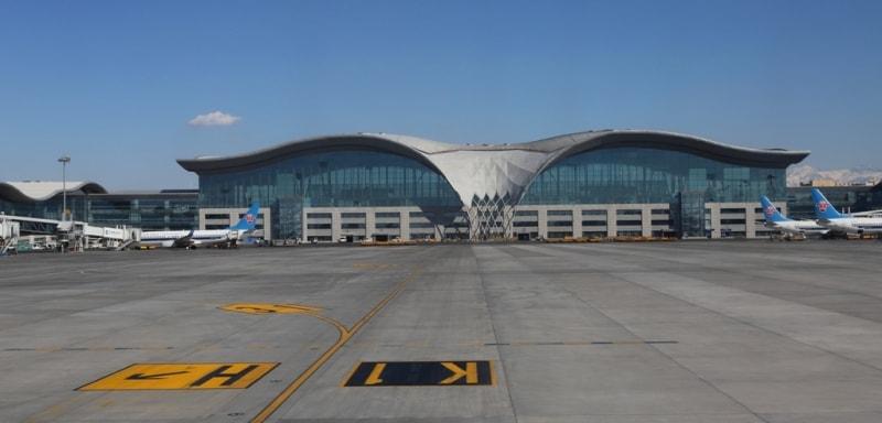 Аэропорт Урумчи.