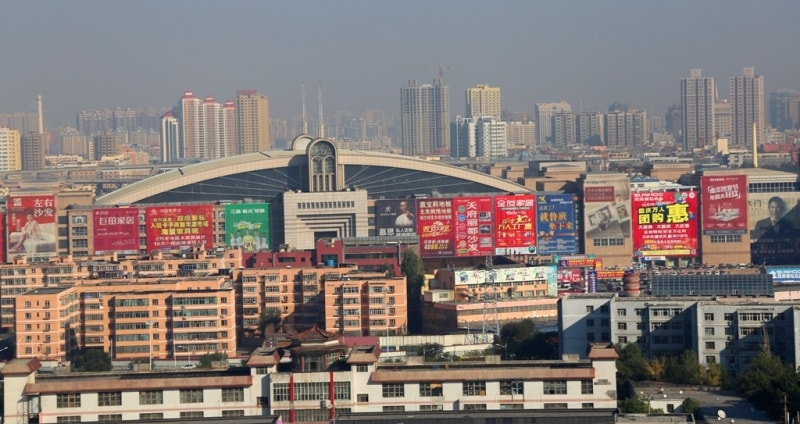 Всё же сам регион современного Урумчи оставался традиционно уйгурской (тюркской) территорией, хотя и располагался на пересечении многих культур. После проникновения в регион ислама в конце X - нач. XI веков, китайское влияние сильно ослабевает, и затем начинает усиливаться только к началу XVIII века. Так, в 1763 году, когда формальные границы китайских владений достигли территорий современного Казахстана, разросшийся город Лунтай получает своё китайское название Дихуа, то есть «просвещение», а 1 февраля 1954 года город получил и своё нынешнее китайско-уйгурское название Урумчи, что в переводе с древнего монгольского языка означает «прекрасное пастбище». Статус столицы Восточного Туркестана окончательно закрепился за городом в 1884 году.