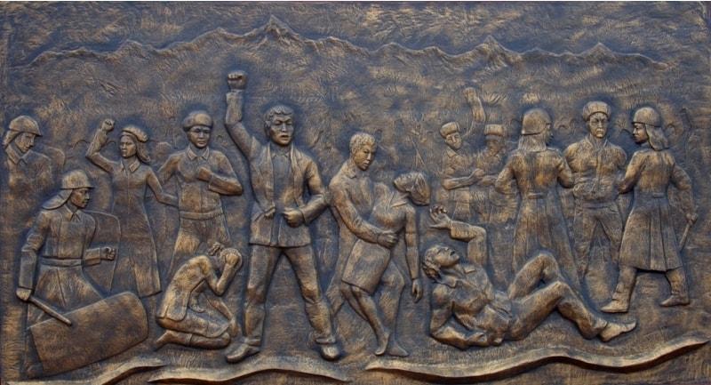 Декабрьское восстание 17 – 18 декабря 1986 года. XX век.
