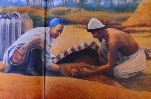 Картина Хлудова. Хлеб.