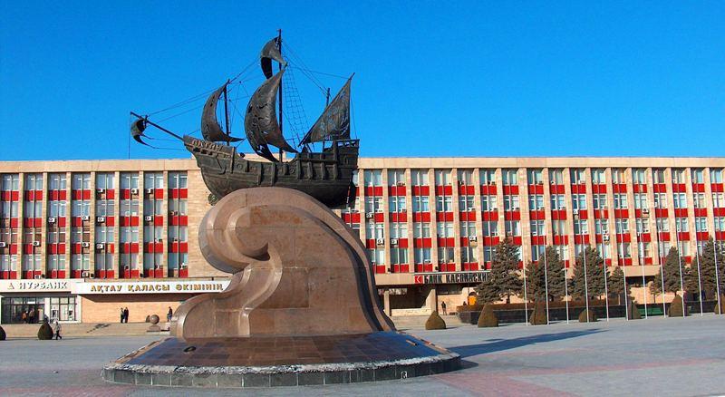 Aktau town.