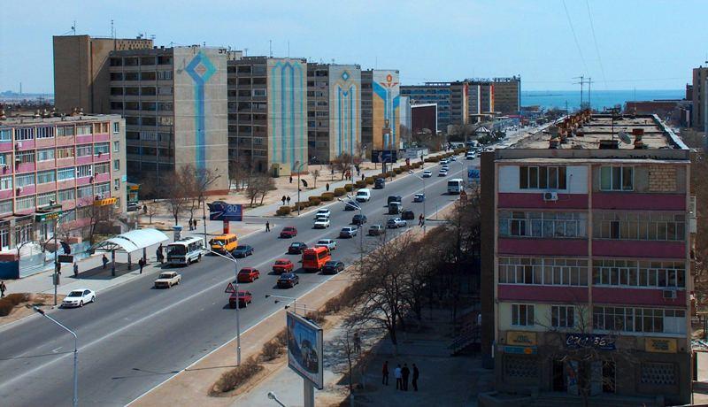 Town Aktau.