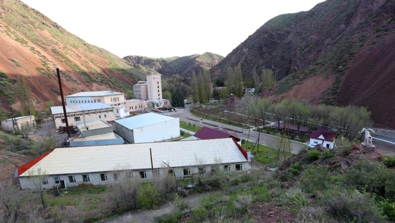 Zharkent-Arasan healt resort.