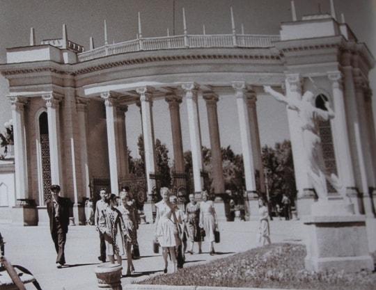 Park named after M. Gorky in Alma-Ata.