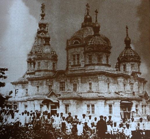 После снятия лесов в 1907 году.