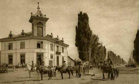 Перекресток улиц Панфилова и Комсомольской.