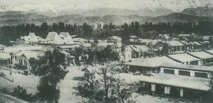 The Kind to Almaty-Ata. 1936.