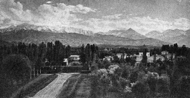 The town of Alma-Ata. 1929.