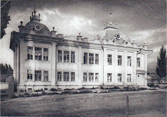 Дом Исхака Габдулвалиева. В Советское  время - Наркомфин.