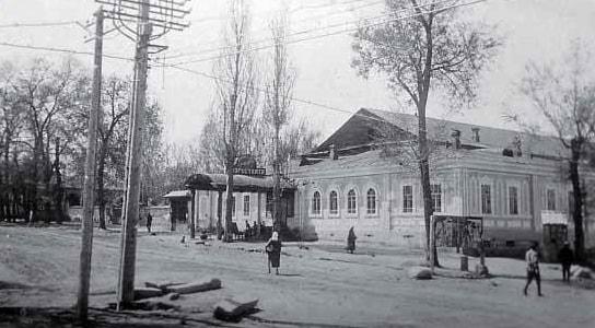 Первый Казахский театр. 1920-е годы.