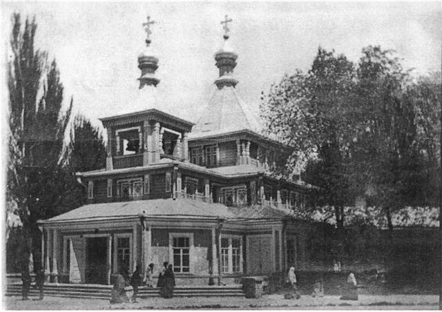 Успенская церковь, построена в конце 1880-х годов, при Архиерейском дворе.