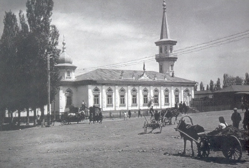 Клуб «Нацмен» (бывшая мечеть). Алма-Ата.