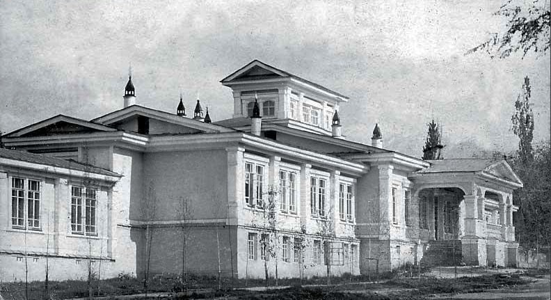 Губернаторский дворец постройки 1879 года.