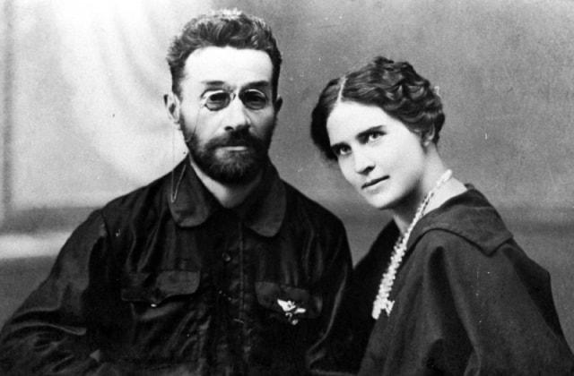 А.П.Зенков с супругой А.П.Золотаревой. 1920-ые годы.