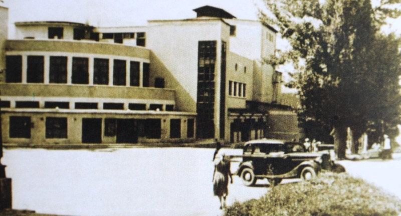 Алма-Атинский драматический театр. 1950-ые годы.