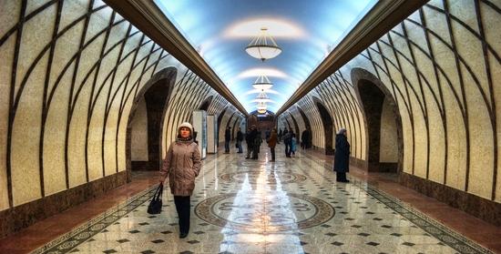 "Станция метро ""Жибек Жолы""."