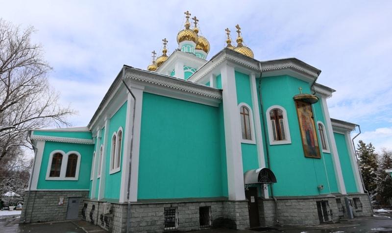 St. Nicholas Church of Almaty.