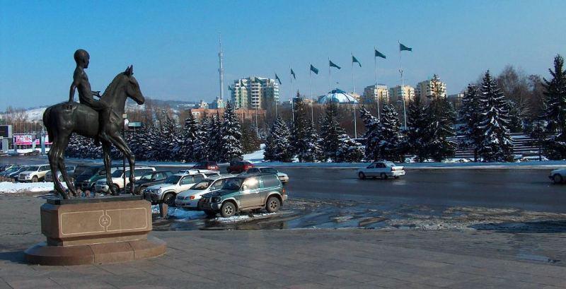 Площадь Республики. 2002 год.