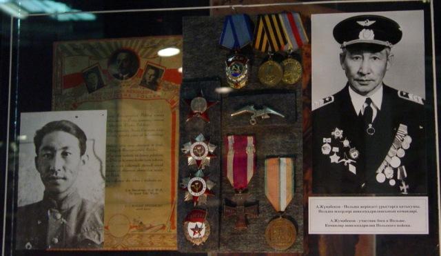 Герой Польской Республики Жумабеков.