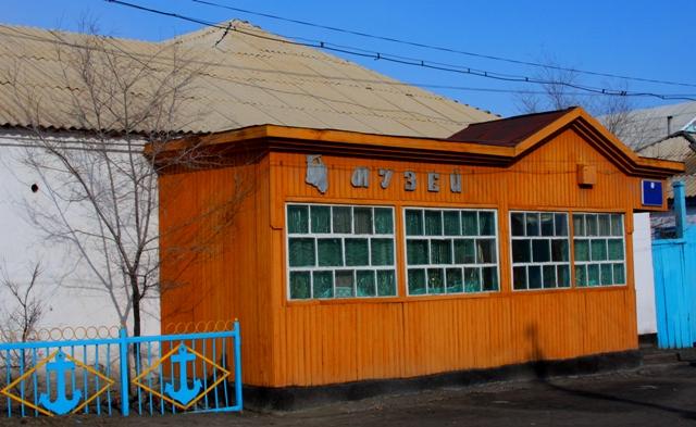 Здание историко-краеведческого музея в Аральске.