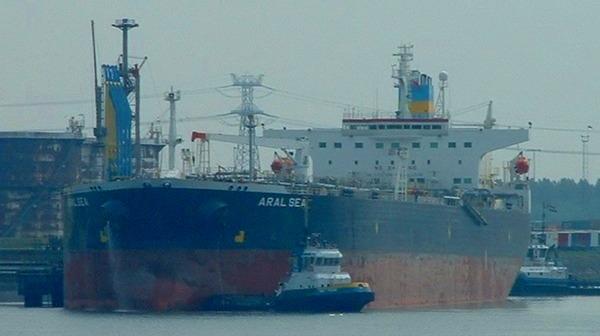 "Танкер российского флота ""Aral Sea""."