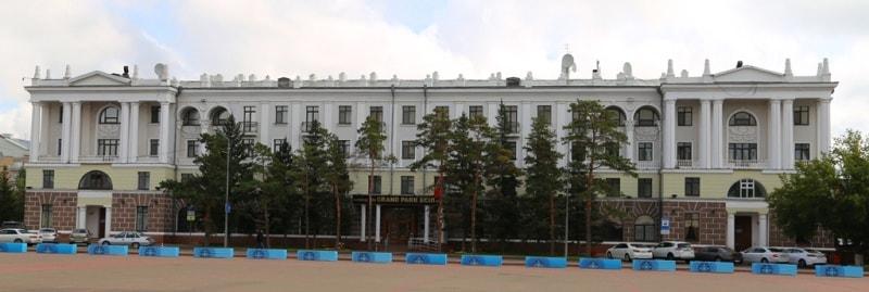 """Hotel """"Grand Park Esil"""". Photo by Alexander Petrov."""