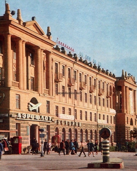 Hotel Ishim. Photo B. Podgorny. 1971.