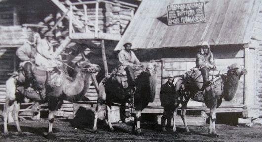 Bread and butcher shops in Akmolinsk. 1911.