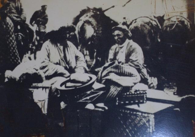 Торговля на базаре.