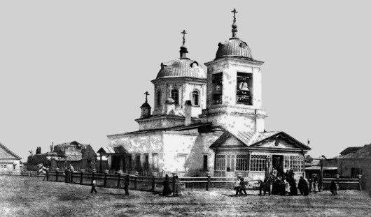 Собор Николая Чуудотворца. Построен в XVII веке, он просуществовал до 30-ых годов прошлого столетия.