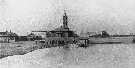 Мечеть, построенная татарскими купцами-рыбопромышленниками, братьями Ахмировыми. Мечеть находилась на улице Набережной.