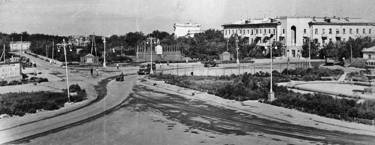 Вид на город. 1964 год.