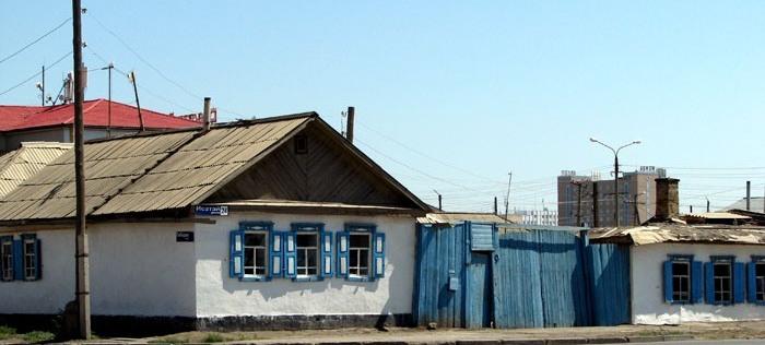 Старые улочки Атырау.