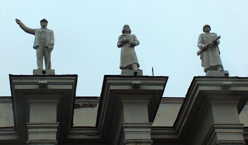 Карагандинский Дворец культуры горняков.