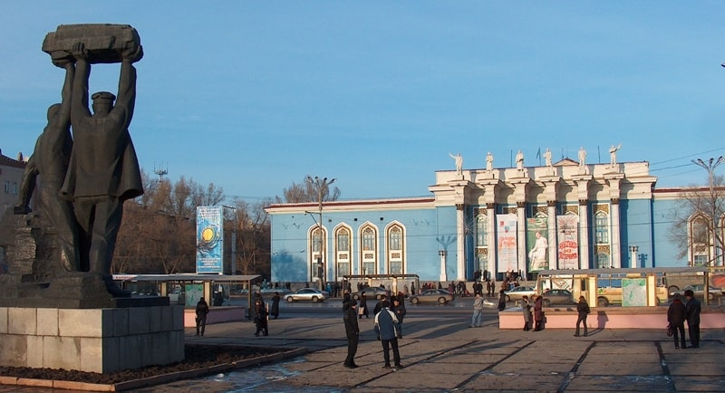 Karaganda Palace of Culture of Miners.